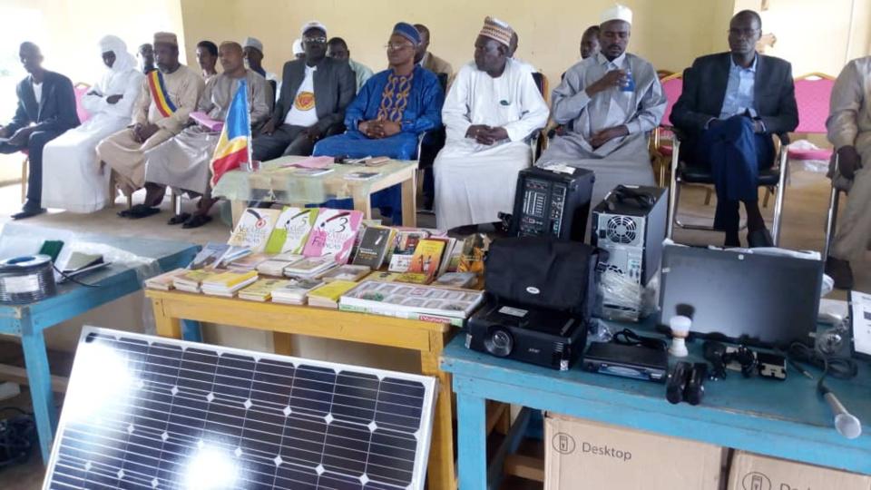 Tchad : la maison des jeunes de Goz Beida équipée en matériel