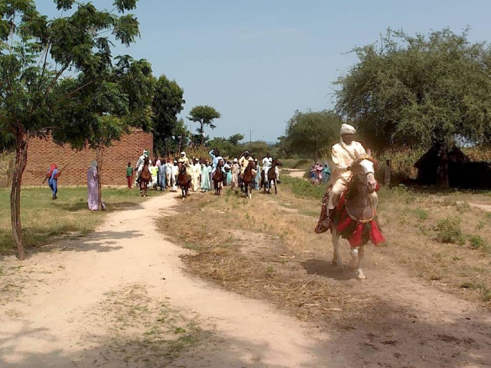 Tchad : des touristes français à la découverte du village de Zerli au Guera