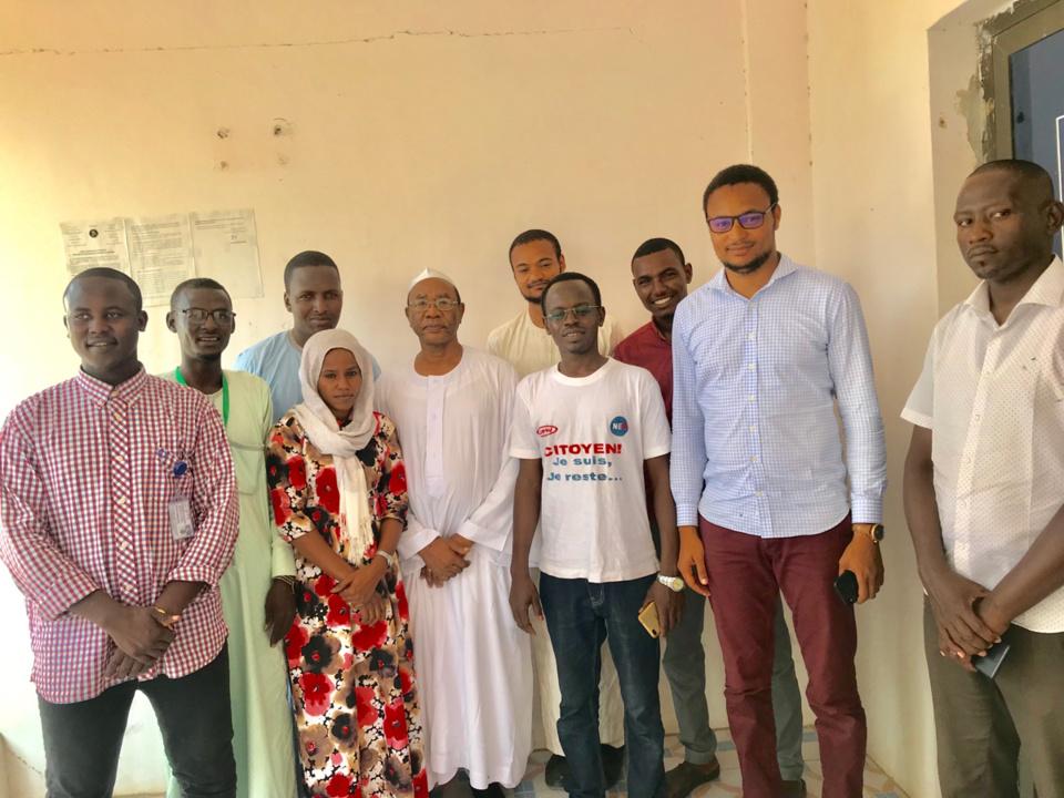 Tchad : visite du secrétaire général du PLD au siège d'Alwihda