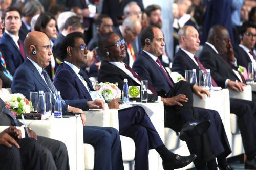 La Russie va doubler ses échanges commerciaux avec le continent africain. © DR