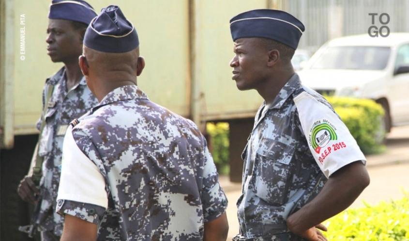 Les Forces de sécurité togolaises jaugent leurs capacités d'interventions en cas d'attaque terroriste. Illustration. © DR