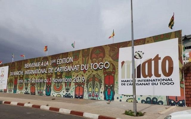 C'est parti pour dix jours d'activités de promotion de l'artisanat togolais. © IciLomé