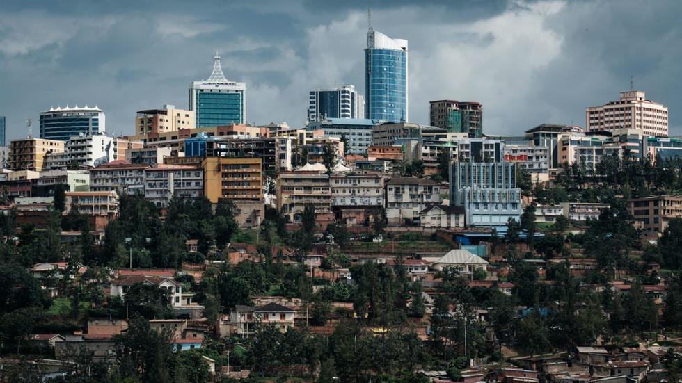 Le centre de Kigali, au Rwanda, le 29 avril 2019. Yasuyoshi Chiba / AFP