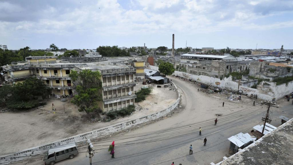 Vue générale de la capitale Mogadiscio (photo d'illustration). © REUTERS/AU-UN IST Photo/Tobin Jones/Handout