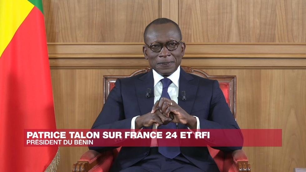 Le président béninois Patrice Talon. © France 24