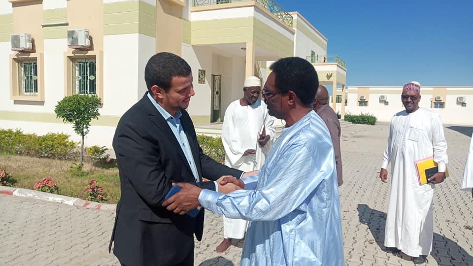 Tchad : le ministre de la Santé visite l'hôpital koweïtien à N'Djamena. © Msp