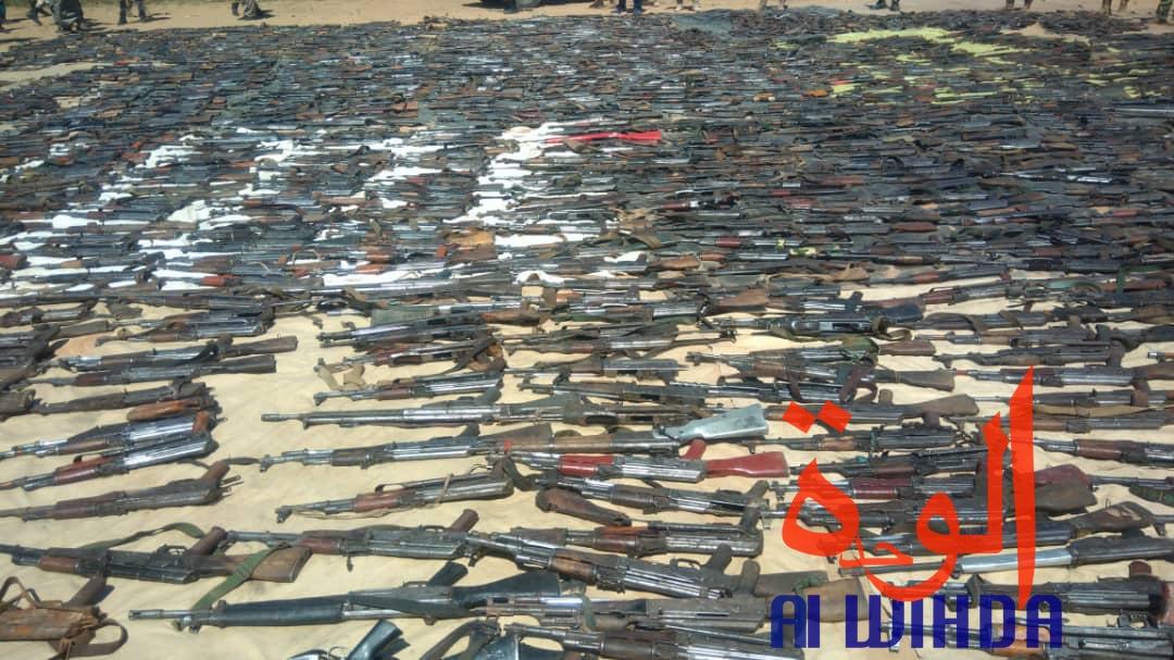Tchad : un impressionnant arsenal de guerre présenté au ministre de la défense