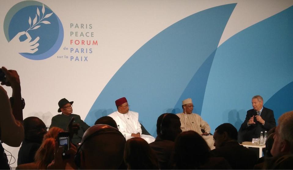 """Forum sur la paix : """"Les terroristes sont mieux armés que nos armées"""", Idriss Déby. © DR"""