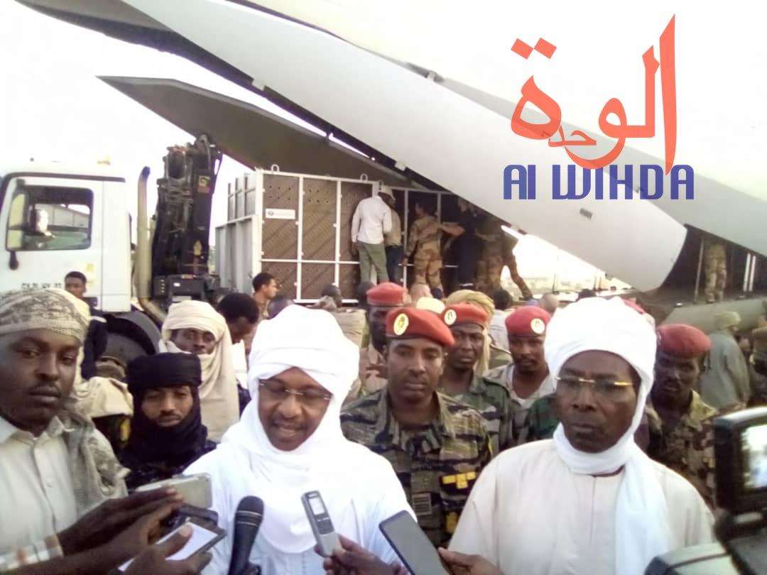 Tchad : le ministre de l'Environnement réceptionne des oryx et addax à l'Est. © Alwihda Info
