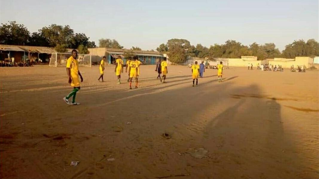 Tchad : le championnat de foot reprend à Goz Beida, impacté par l'état d'urgence. © DR
