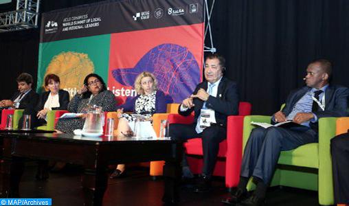Le Maroc, brillamment élu à la présidence de l'organisation des Cités et Gouvernements Locaux Unis-Monde. © DR
