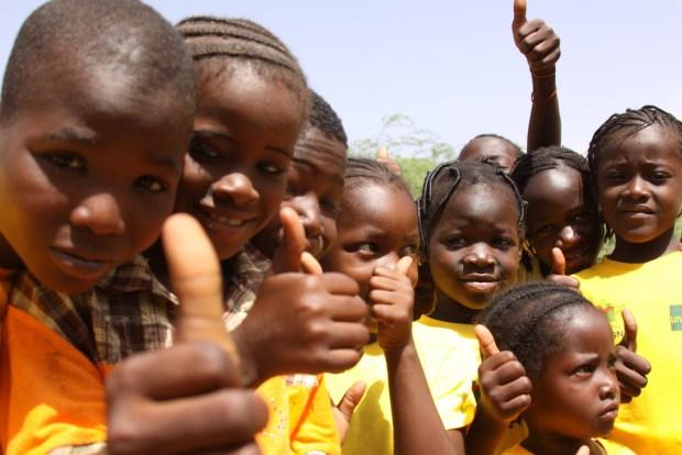 Des enfants en Afrique. Illustration. © DR