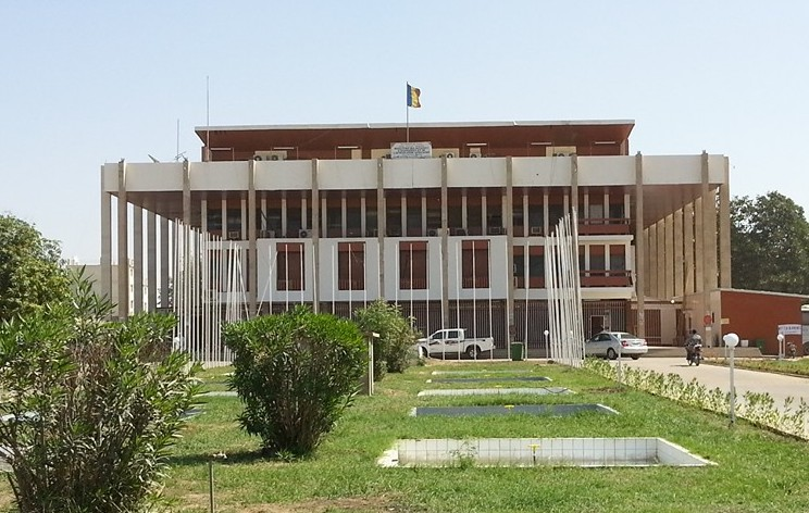 Le ministère des Affaires étrangères, de l'Intégration africaine, de la Coopération internationale et de la Diaspora à N'Djamena. © DR/T.D