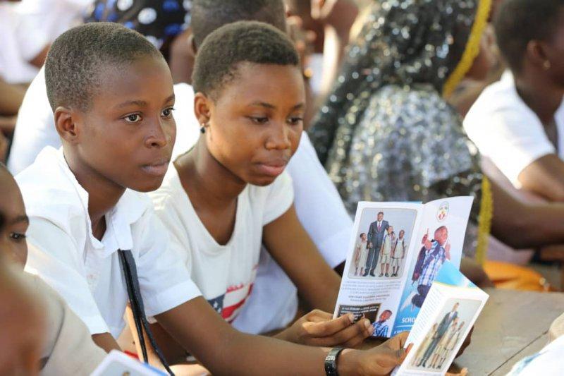 Togo : 1 250 000 prises en charges en deux ans pour l'assurance maladie scolaire. © DR