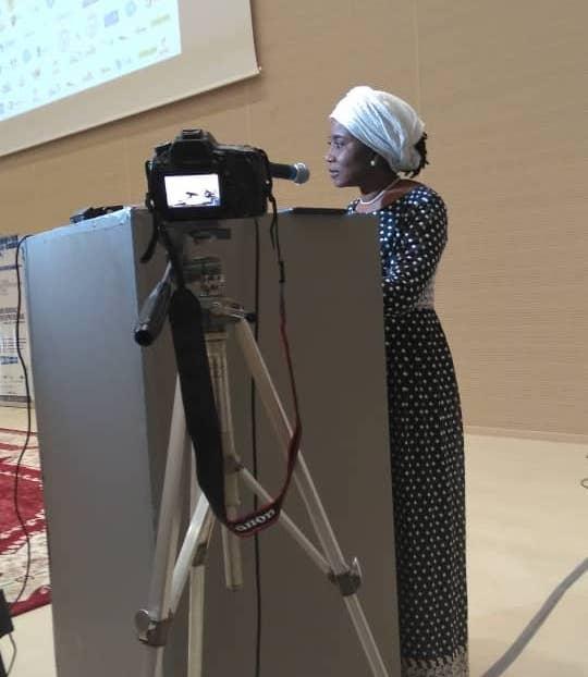 """Tchad : la jeunesse face aux défis de l'entrepreneuriat, """"n'ayez pas peur. Visez toujours la lune"""". © Awihda Info"""
