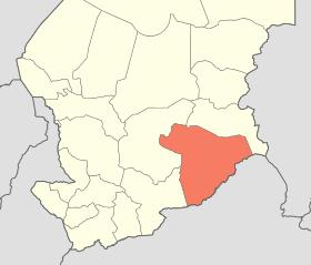 La province du Salamat au Tchad. © DR