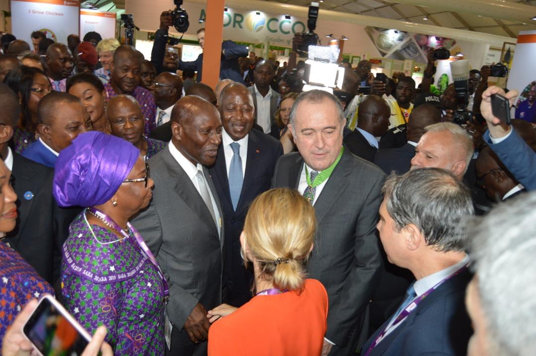 Salon de l'Agriculture et des Ressources Animales d'Abidjan (SARA) 2019 : Sous le signe de l'innovation technologique pour une agriculture intelligente.