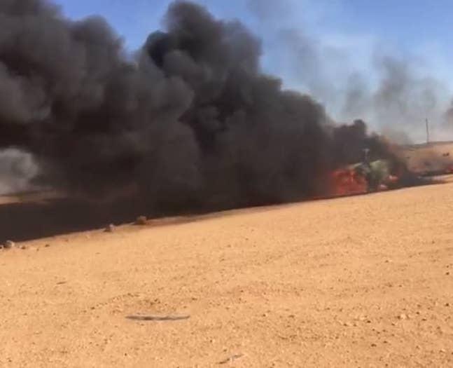 Libye : sept tchadiens grièvement blessés dans un accident de voiture. © Capture d'écran/DR