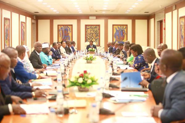 Un conseil des ministres au Togo. Illustration. © DR