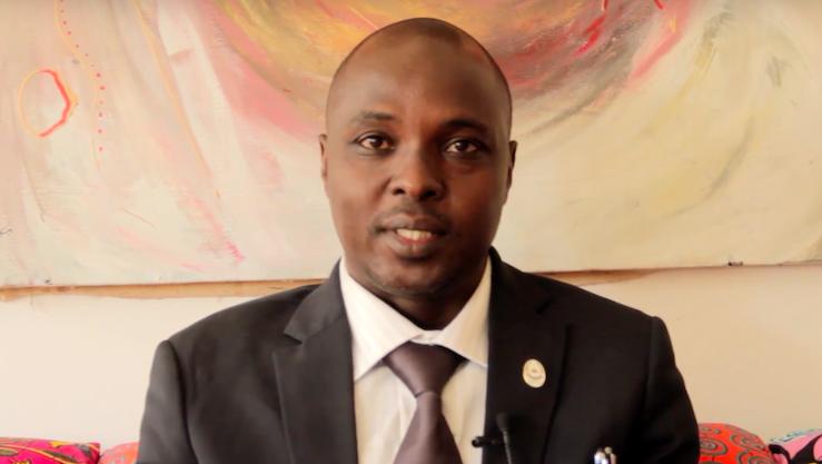Mahamat Saleh Daoussa Haggar est le nouveau président de l'Université de N'Djamena. © DR/Amb.Fr