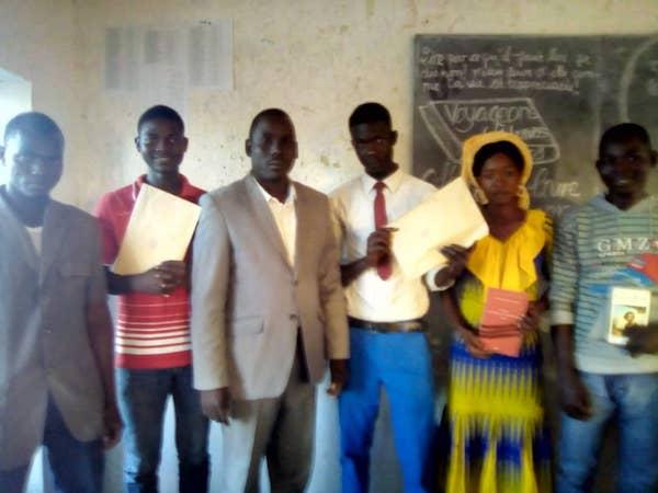 """Tchad : exposé-débat sur """"la descente aux enfers"""" de Noël Netenon Ndjekery. © Alwihda Info"""
