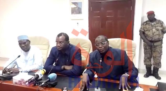 """Tchad - état d'urgence : """"Nous n'allons pas baisser les bras"""", ministre Communication. © Alwihda Info"""
