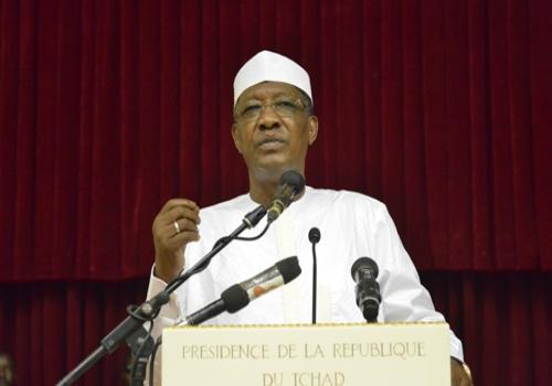 """Idriss Déby : """"vous utilisez mal les réseaux sociaux"""". © Alwihda Info"""
