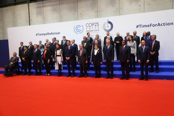 Les chefs d'Etat présents à la COP 25.