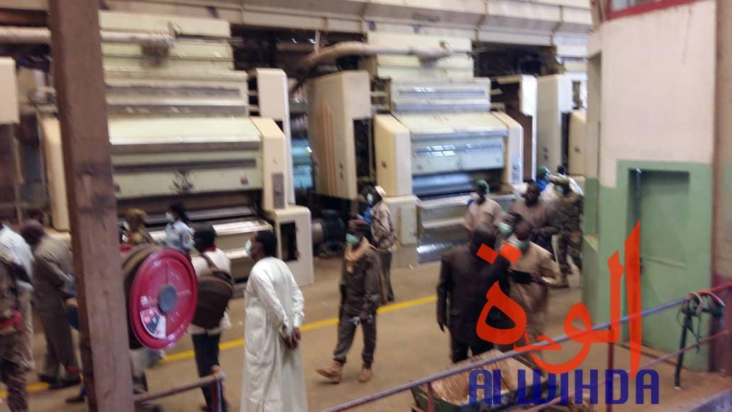 Tchad : lancement de la commercialisation du coton à l'usine Pala 2. © Alwihda Info/F.M.