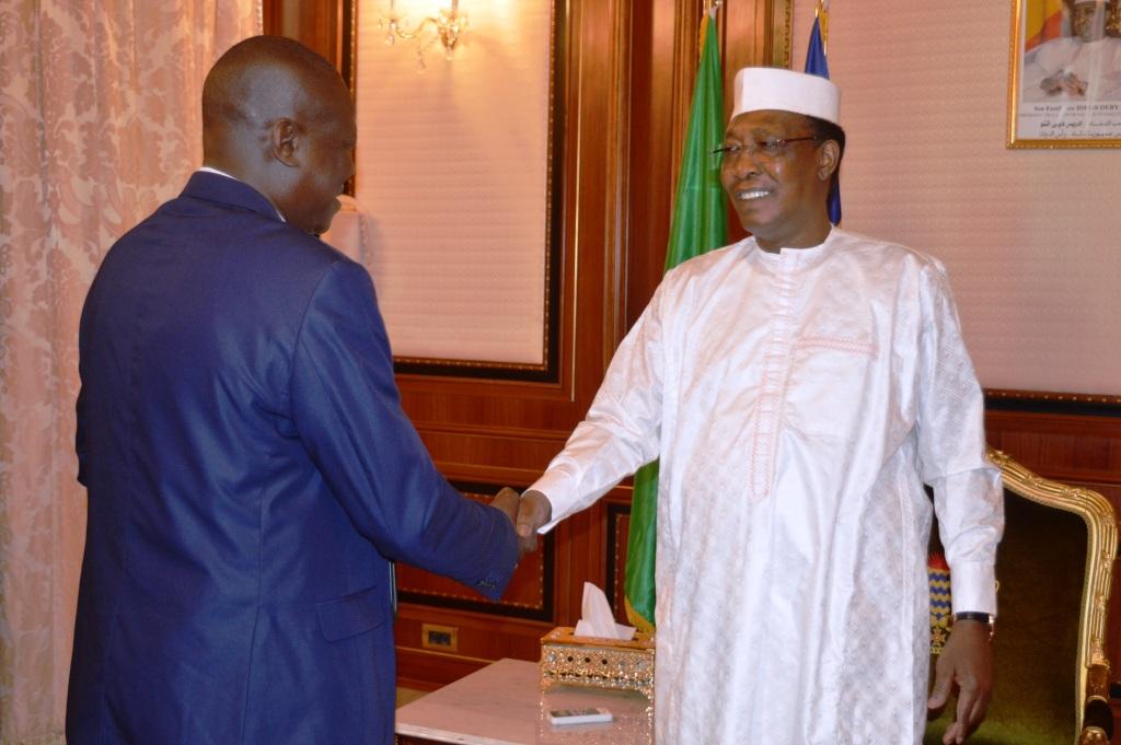 Tchad : le conseil du barreau reçu à la Présidence. © PR