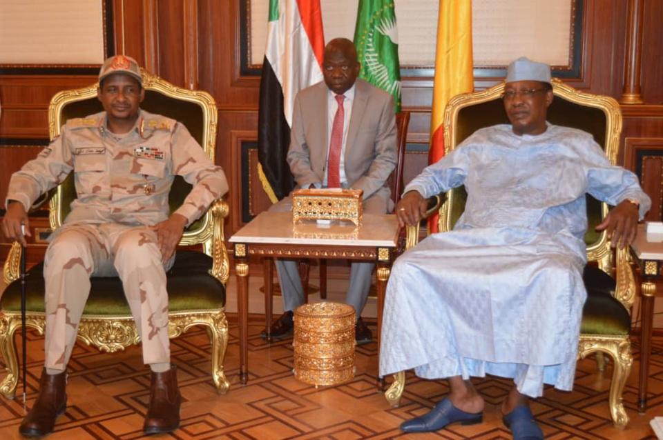 Tchad : le vice-président du conseil souverain du Soudan en visite à N'Djamena. © MAE