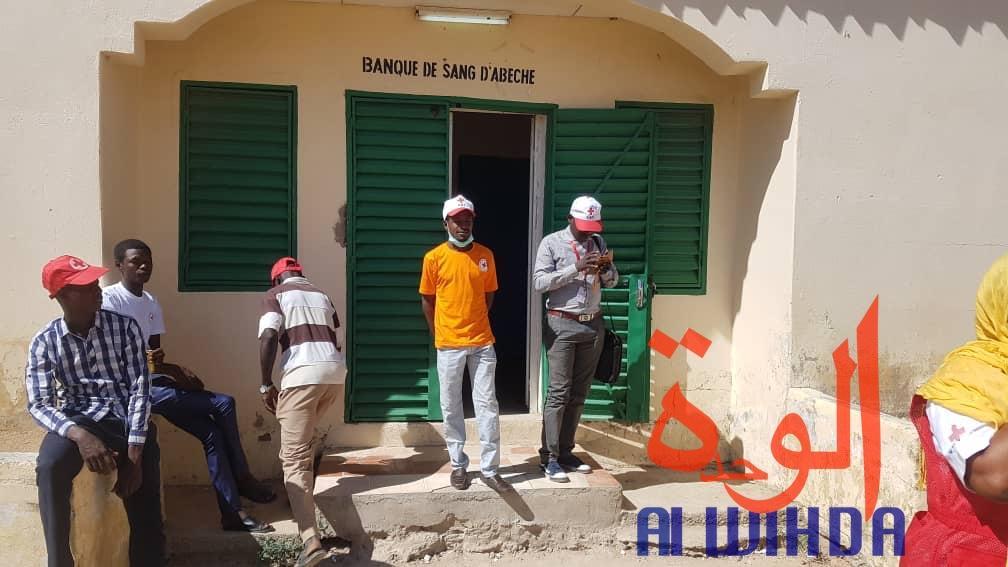 Tchad : la banque de sang d'Abéché renforce son stock grâce à des dons volontaires. © Alwihda Info