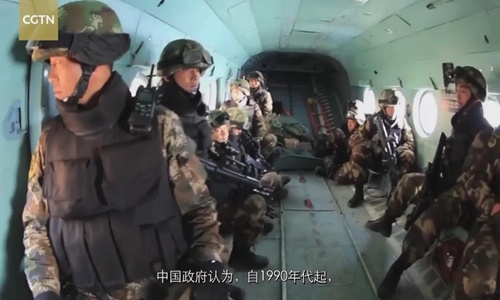 Rare documentary reveals counter-terrorism perseverance in Xinjiang