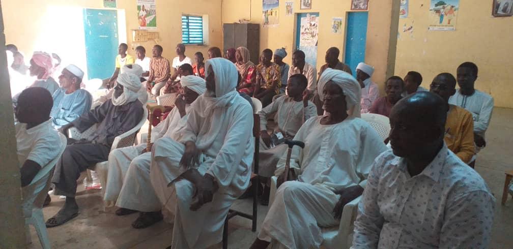 Tchad : débat sur la communication dans la gestion des conflits à Ati. © Alwihda Info