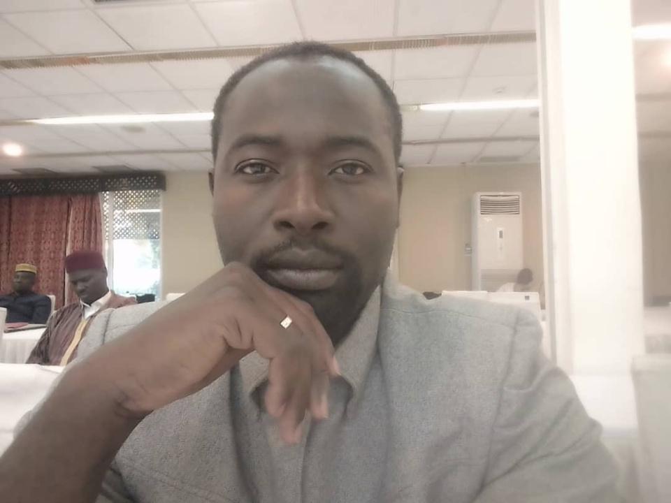 Le président de l'association tchadienne pour la promotion et la défense des droits de l'Homme (ATPDH), Mahamoud Mahamat Ali. © DR