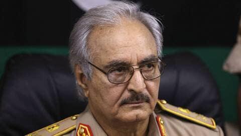 Le général libyen Haftar. © DR