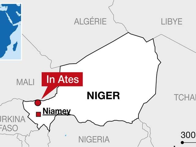 In-Atès, au nord de la capitale du Niger, Niamey. | © INFOGRAPHIE OUEST-FRANCE