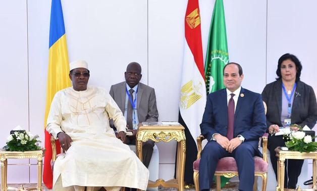"""L'Egypte va renforcer sa coopération avec le Tchad """"dans tous les domaines"""". © DR"""