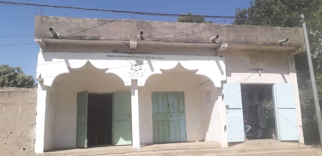 Le siège du MNRT à N'Djamena. © MNRT