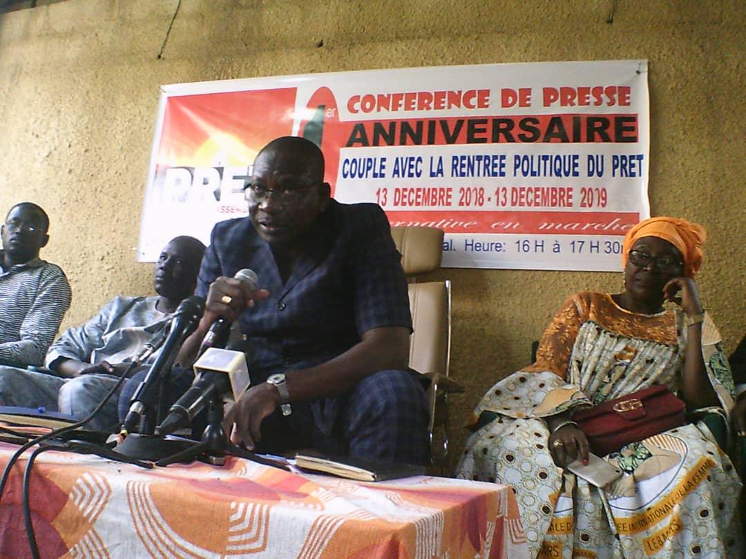 """Tchad : """"il est temps que les choses changent"""", estime le PRET. © Alwihda Info"""