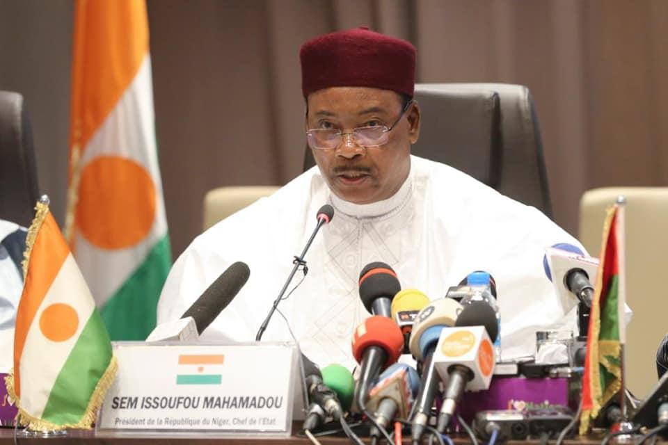Le président de la République du Niger, Mamadou Issoufou. © PR Niger