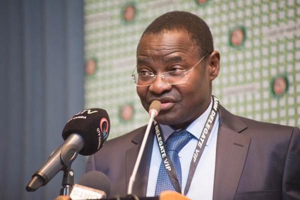 Le ministre de la santé et de l'hygiène publique du Togo, Prof. Moustafa MIJIYAWA. © DR/TF