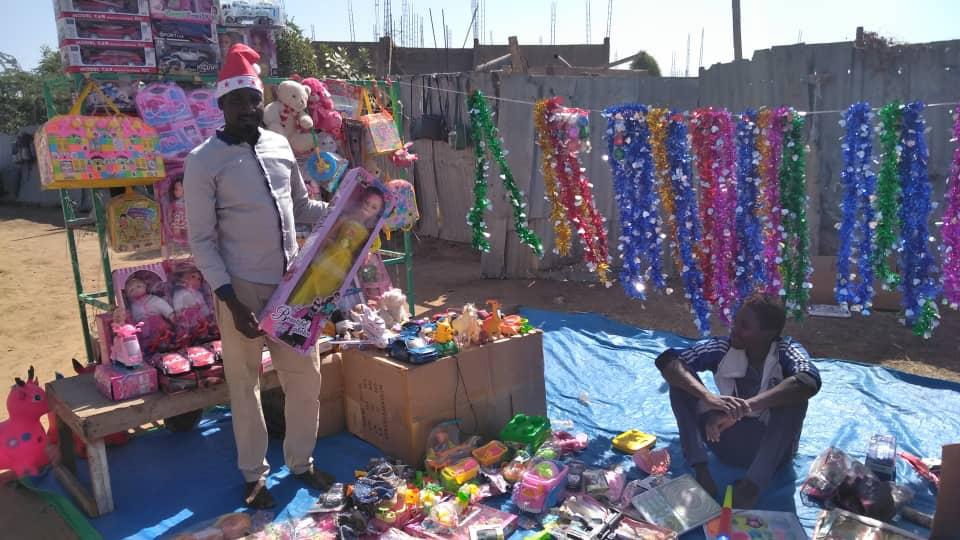 Tchad : les fêtes se préparent timidement, malgré le faible pouvoir d'achat. © Alwihda Info/M.M.T.