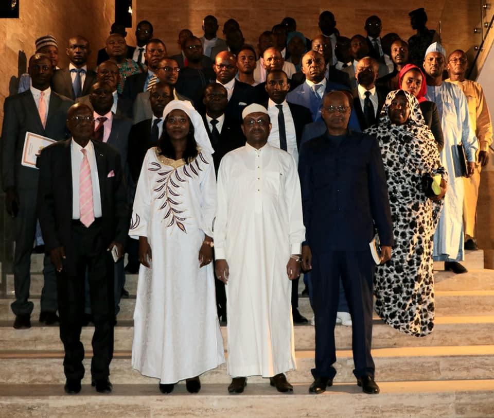 Les délégations tchadiennes et centrafricaines, samedi 21 décembre 2019 à N'Djamena, lors de  la 14ème session de la commission de coopération. ©DR/Tchad Diplomatie