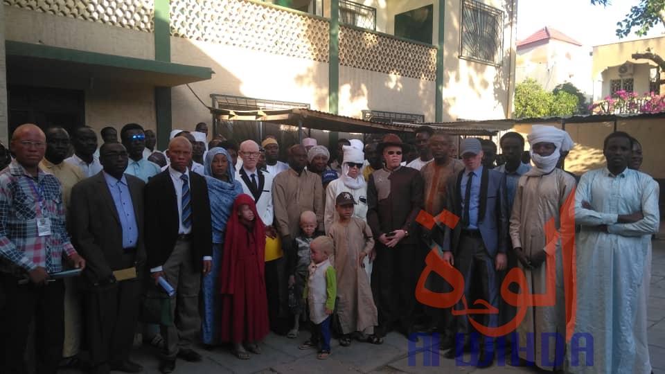 Tchad : les albinos demandent une meilleure considération de l'Etat. © Alwihda Info/M.M.