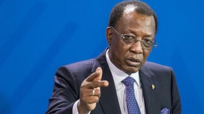 Le président de la République du Tchad, Idriss Déby. © DR