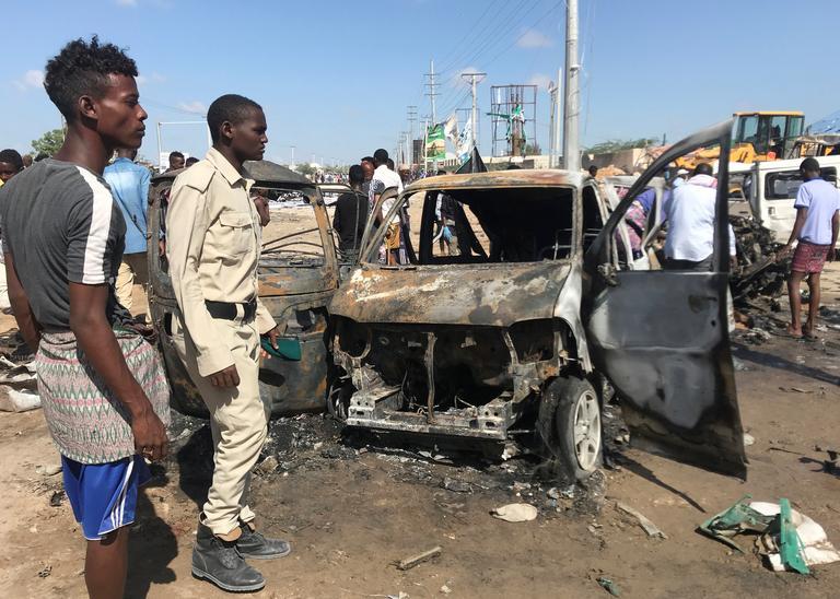 Somalie : au moins 73 morts dans un attentat au camion piégé. © REUTERS/Feisal Omar