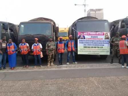 Cameroun/Régions anglophones: Paul Biya envoie un convoi humanitaire