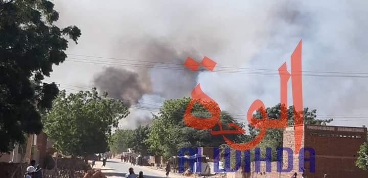 Soudan : des magasins d'armes pillés à Aldjinena. © Alwihda Info