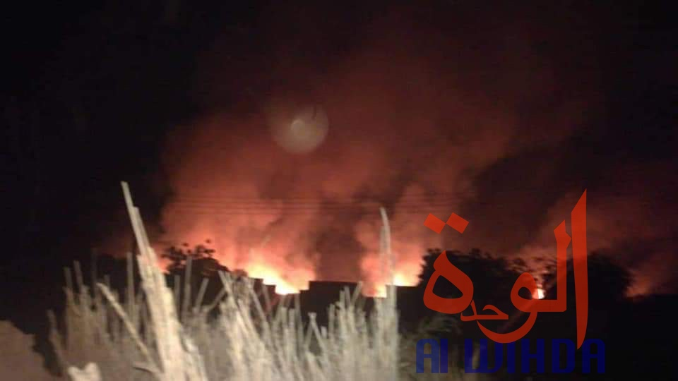 Soudan : des civils fuient vers le Tchad suite aux affrontements près de la frontière. ©Alwihda Info